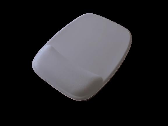R$8,00 cada - Acima de 50pçs-Mousepad Mouse Pad com Apoio Ergonômico sem Impressão com Tecido Branco para Sublimação  - 3