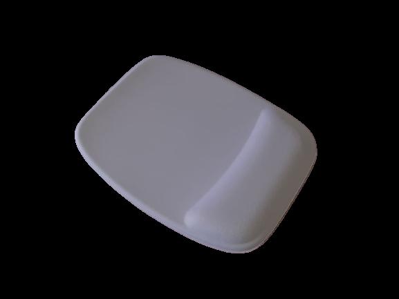 R$8,00 cada - Acima de 50pçs-Mousepad Mouse Pad com Apoio Ergonômico sem Impressão com Tecido Branco para Sublimação  - 5