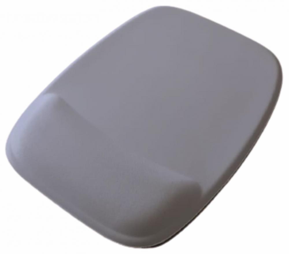R$8,00 cada - Acima de 50pçs-Mousepad Mouse Pad com Apoio Ergonômico sem Impressão com Tecido Branco para Sublimação  - 8