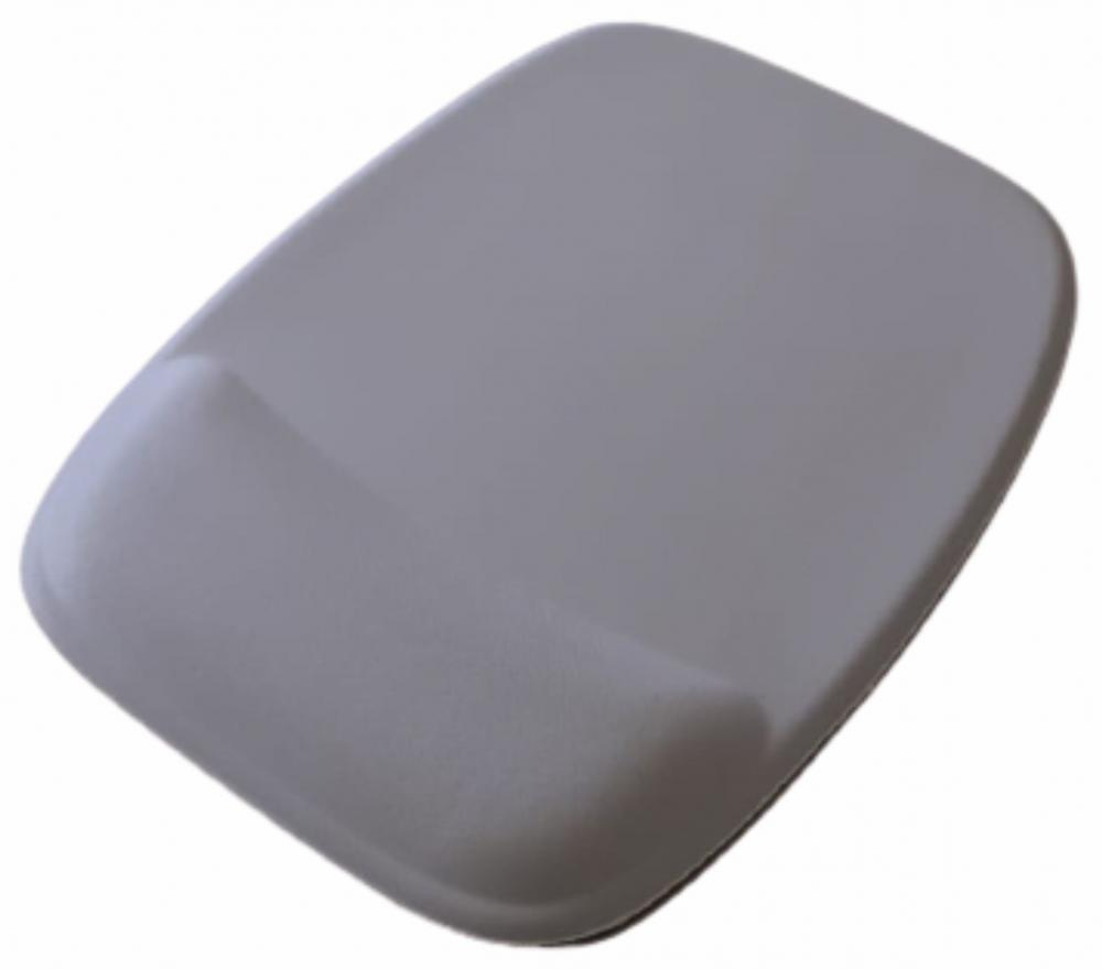 R$8,00 cada - Acima de 50pçs-Mousepad Mouse Pad com Apoio Ergonômico sem Impressão com Tecido Branco para Sublimação