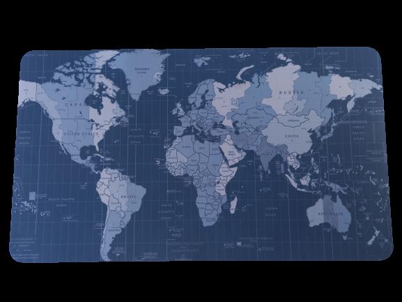 Mouse Pad Mapa Mundi 40,0x70,0cm  - 2
