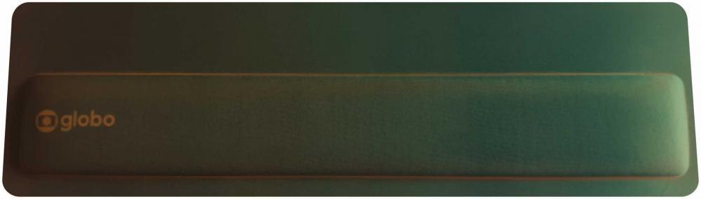 Apoio de Teclado Ergonômico Tecido Preto Sem Impressão  - 2