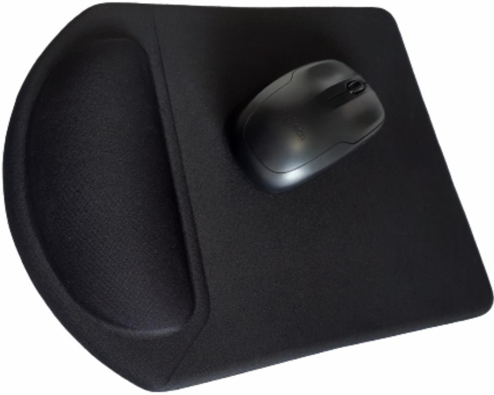 Lançamento - Mousepad Mouse Pad com Apoio Ergonômico sem Impressão com Tecido